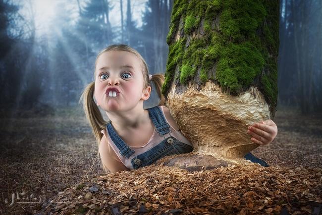 John Wilhelm أب مصور يستلهم صوره الرائعة من بناته 6