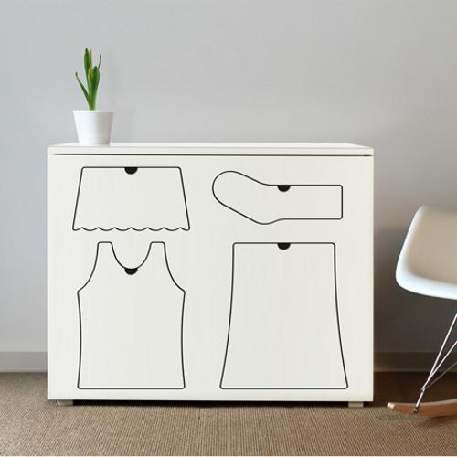 طريقة جميلة لترتيب ملابس الاطفال 1