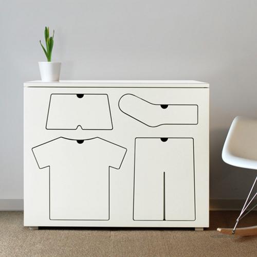 طريقة جميلة لترتيب ملابس الاطفال 6